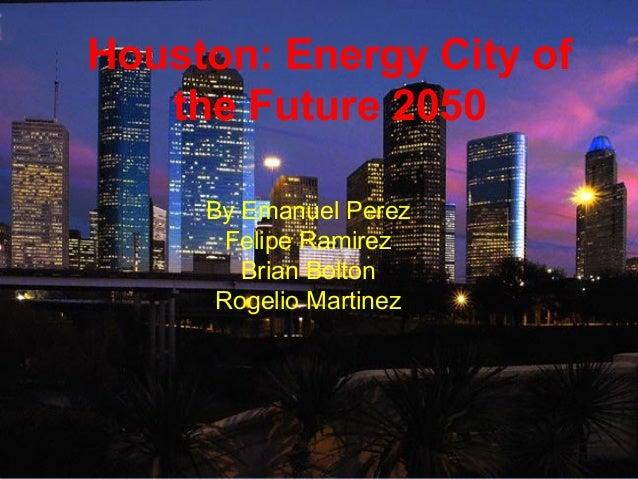 Houston 2050