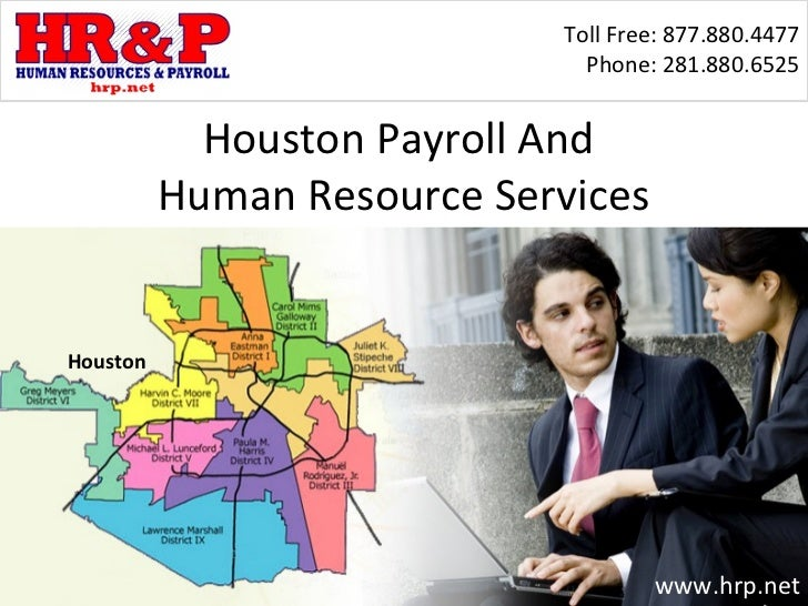 Houston  Payroll Outsourcing  And (HR) Human Resource Services For Small Businesses In Texas