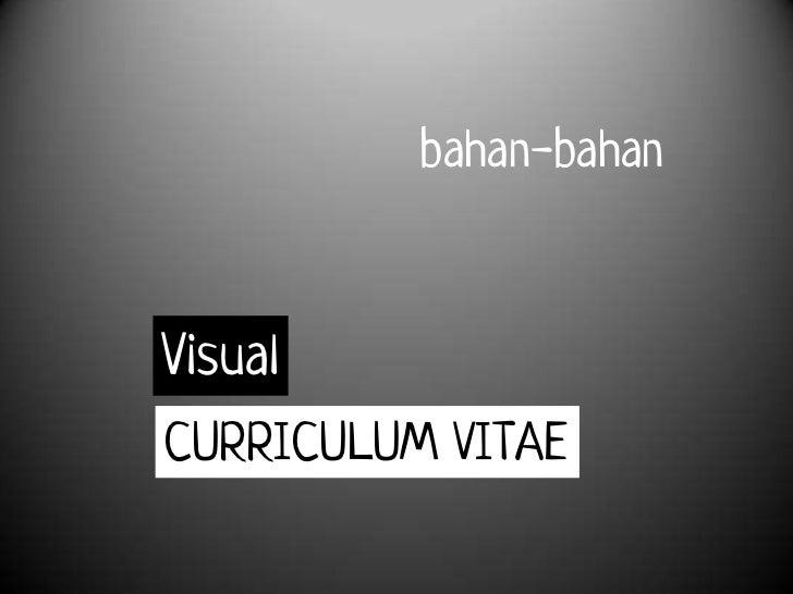 Bagaimana Membuat Visual CV
