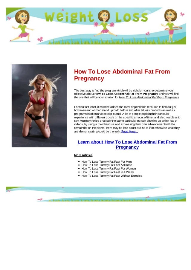 essay how to lose weight fast