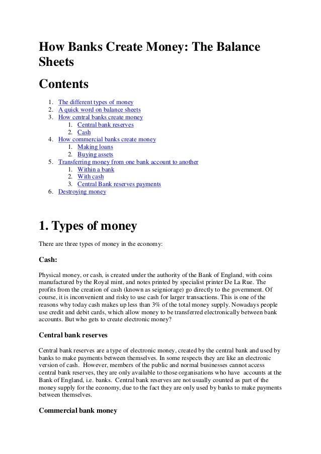 How banks-create-money