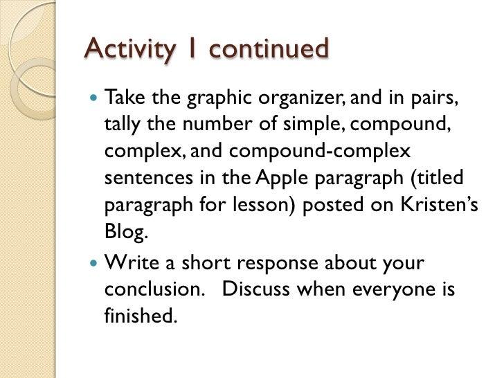 sentence activity
