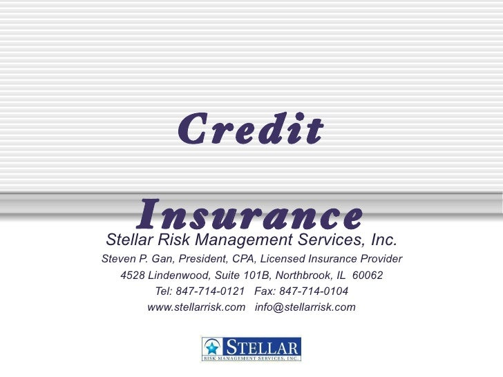 How Credit Insurance Reduces Risk