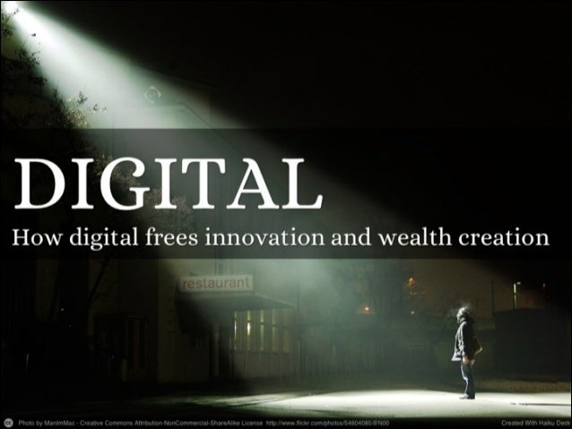 How Digital Decoupling Frees Innovation and Wealth Creation - the true meaning of cloud computing