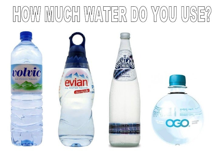 How Much Water   Virtual Water