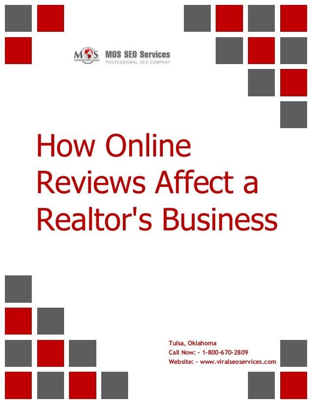 How Online Reviews Affect a Realtor's Business