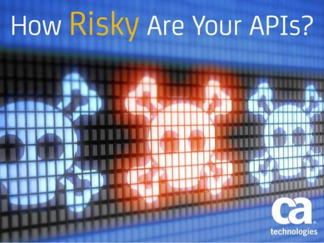 How Risky Are Your APIs?