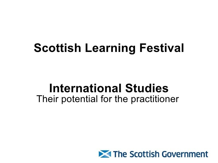 How Scottish Education compares in International Studies
