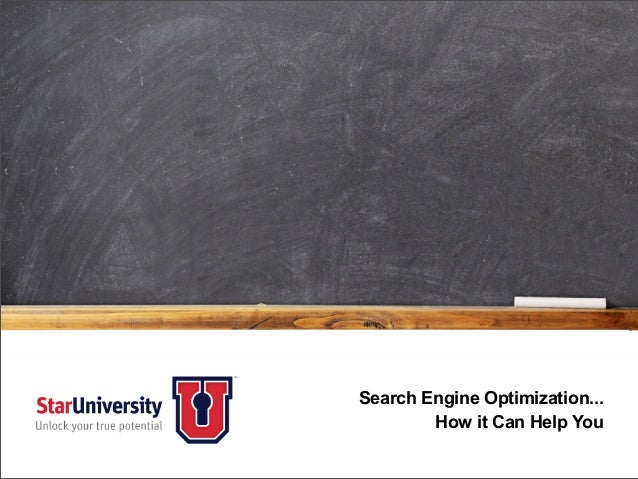 Search Engine Optimization... How it Can Help You
