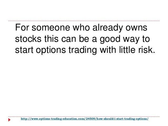 Should i start trading options