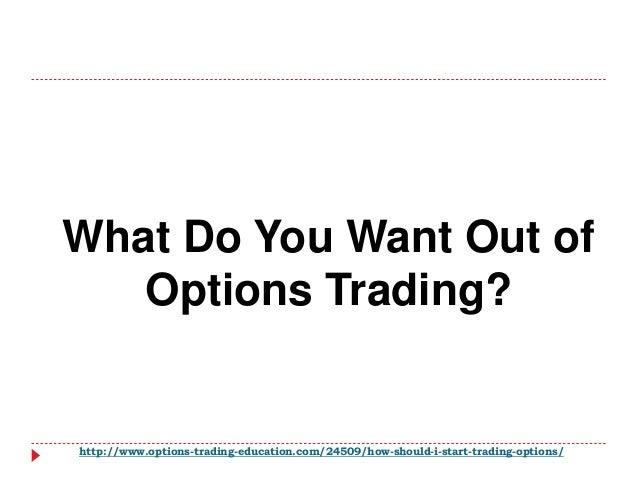 How do i start trading options