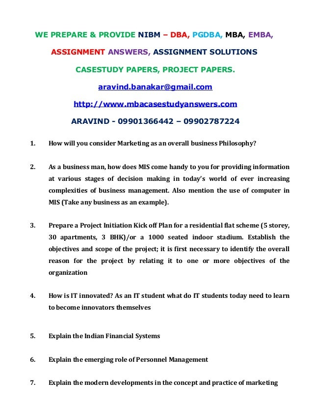 1 nibm assignment Nibm 1st year 1sem question and answers principles of economics nibm 1st year 1 semi q& a ( assignments) nibm 1st year 1sem question and answers.