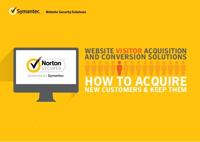 WEBSITE VISITOR ACQUISITION AND CONVERSION SOLUTIONS HOW TO ACQUIRENEW CUSTOMERS & KEEP THEM