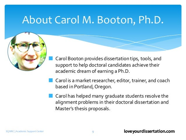 Carol and collection development and dissertation