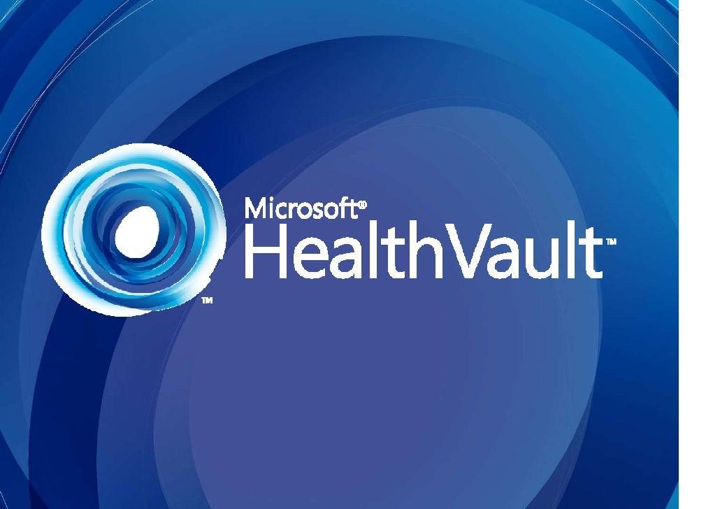 How To Become A Healthvault Partner