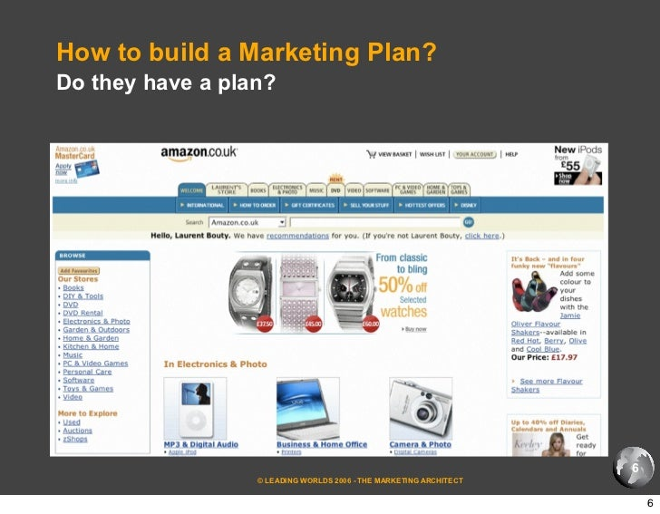 How to build a plan