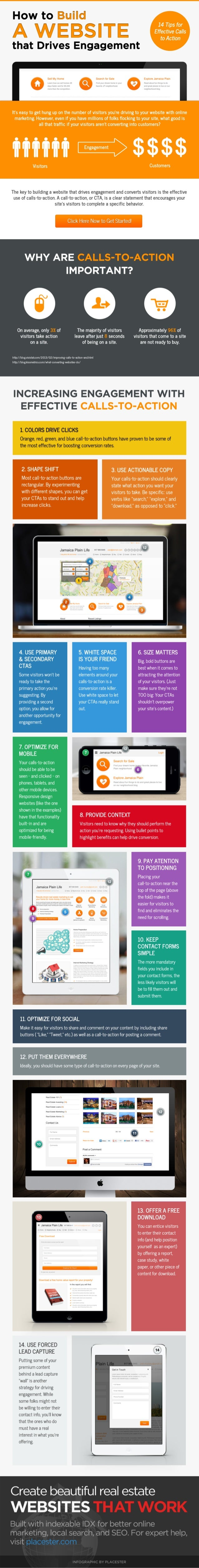 [Infographic] How to Build a Website that Drives Engagement: 14 Tips for Effective Calls-to-Action