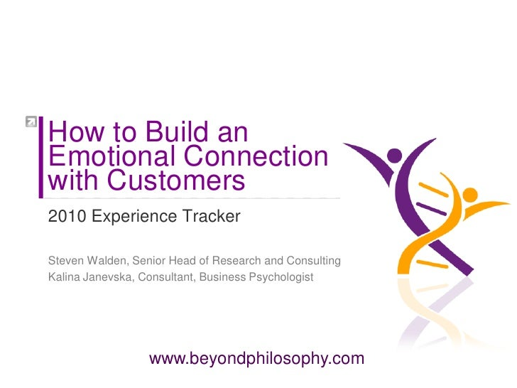 How to build an emotinal connection with your customers