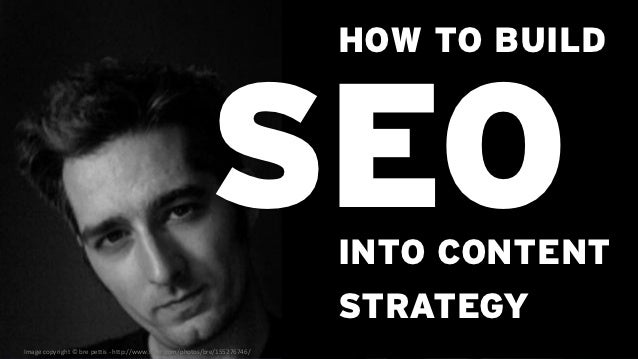 HOW TO BUILD                                                            SEO              INTO CONTENT                     ...