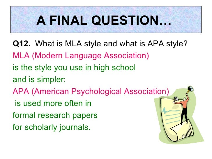 Question about citing APA?