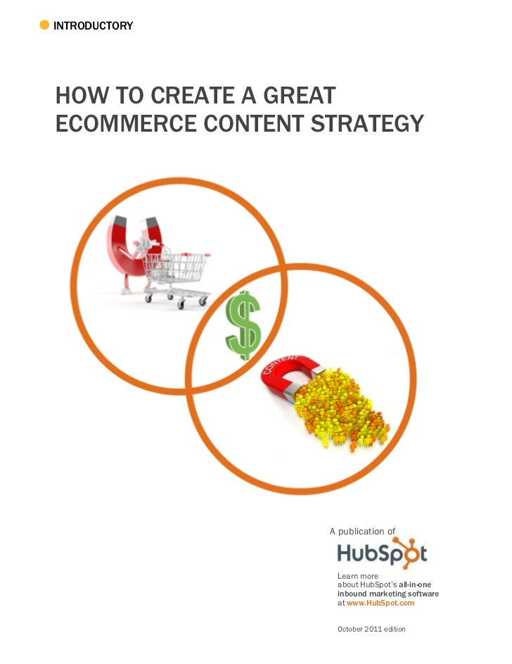 How to create a great ecommerce content strategy