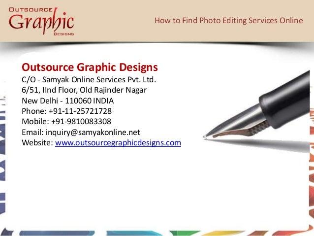 Editing service online