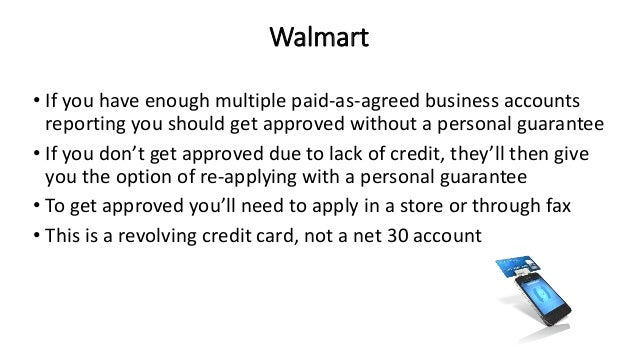 How to Amazon Dell and Walmart business credit cards