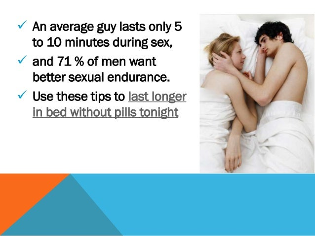 Tips to last longer in sex