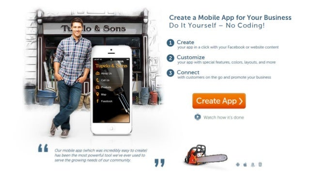 How To Make an App For Your Business - No Coding!