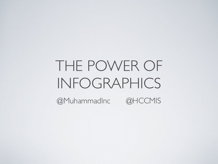 The Social & SEO Power of Infographics