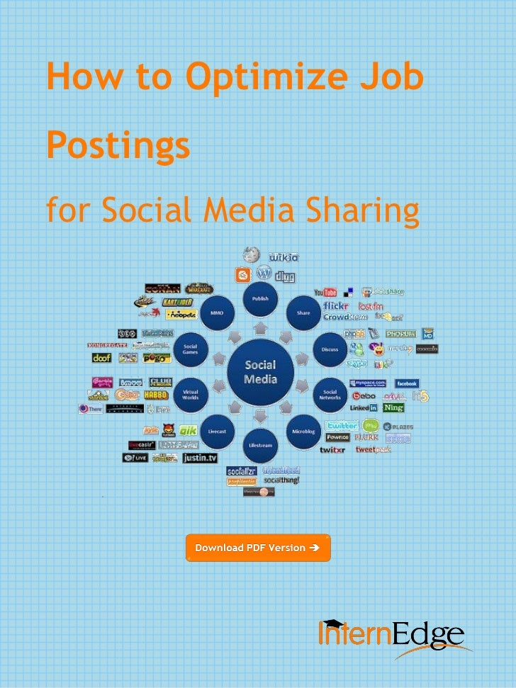 How to Optimize JobPostingsfor Social Media Sharing
