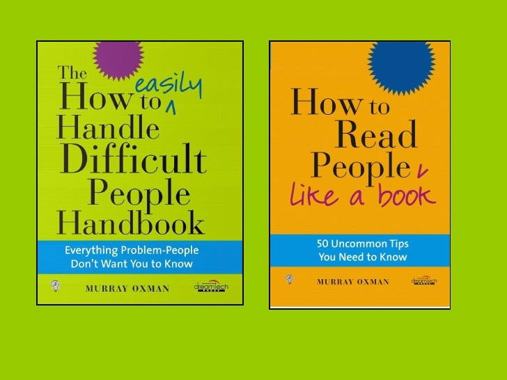 How To Read Difficult People Like A Book