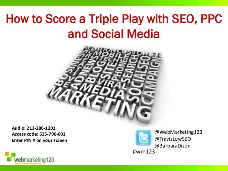 How to Score a Triple Play with SEO, PPC, and Social Media