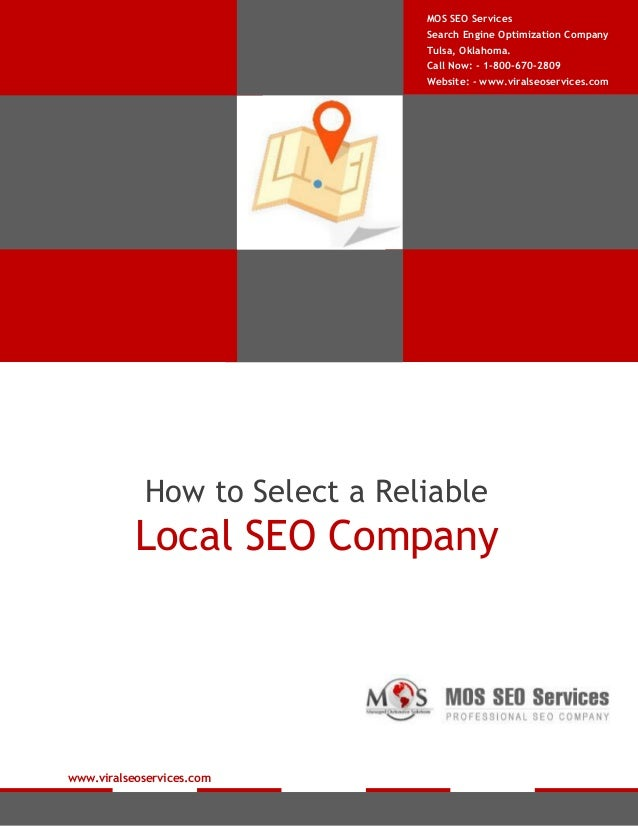 How to Select a Reliable Local SEO Company