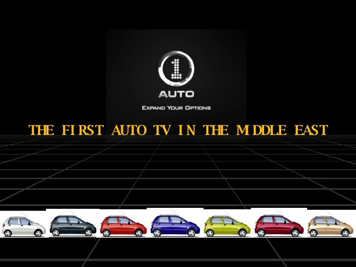 THE FIRST AUTO TV IN THE MIDDLE EAST