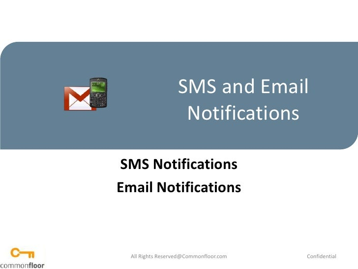 How To Send SMS and Email Notifications  To Residents