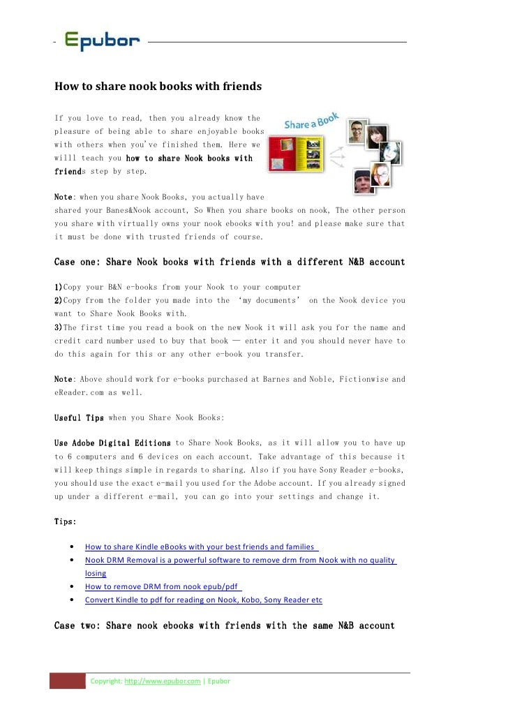 How to-share-nook-ebooks-with-friends