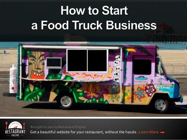 Business plan for a food truck