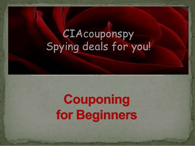 CIAcouponspySpying deals for you!