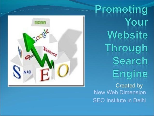 Created byNew Web DimensionSEO Institute in Delhi