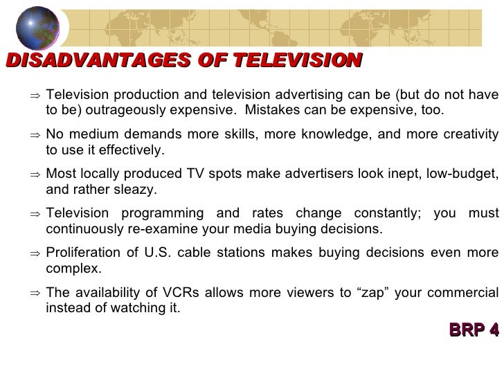 essay advantages of tv 4 lines about television advantages and disadvantages television is the most  common and cheap mode of media in use television.