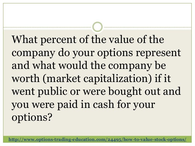 What happens to employee stock options when a company is bought out
