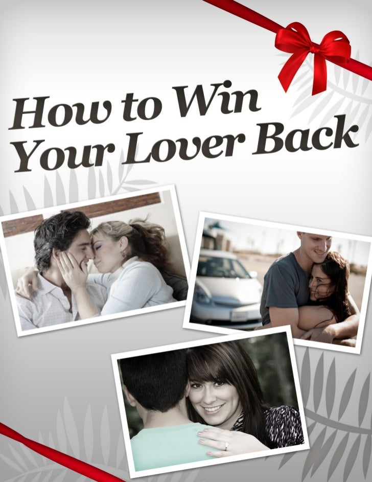 So You Want Your Love Back… Let's Get Started!If you're determined that your partner is              Feeling emotional, de...