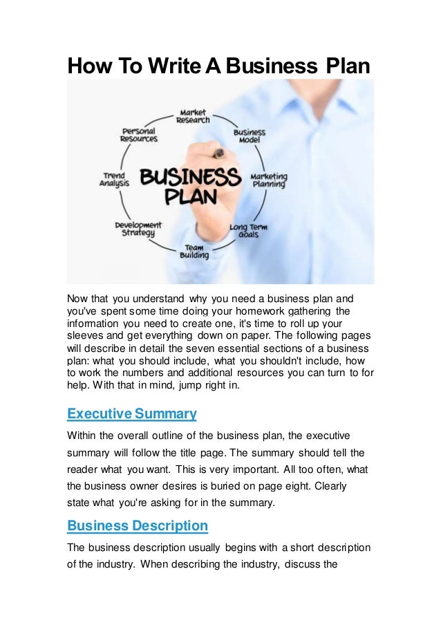 Who Can Help Me Write A Business Plan