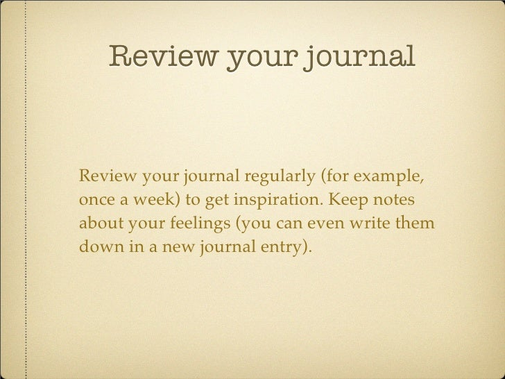 What is a journal entry response and how do I write it?