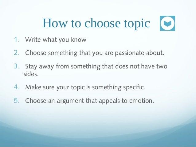 How To Write An Argumentative Essay?