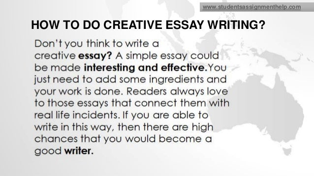 Higher english creative essay