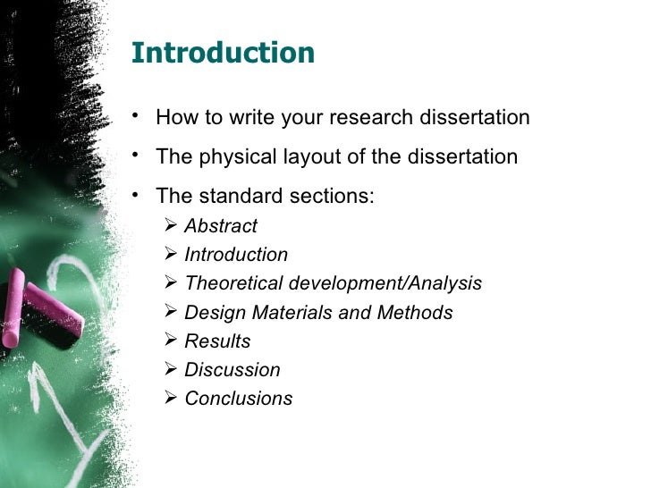 How to write your dissertation 3 weeks