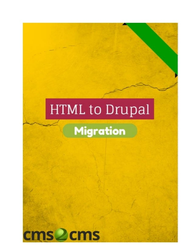 HTML or Drupal: Which Bridge to Cross and Which to Burn