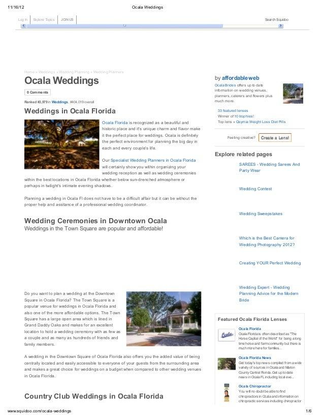 11/16/12                                                                     Ocala Weddings     Log InInfo Explore Topics ...